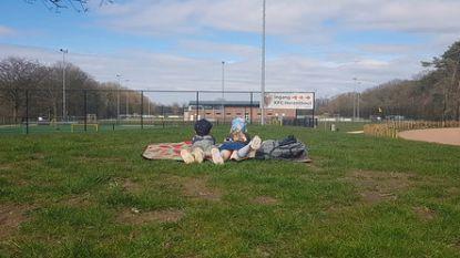 Het openbare leven in het Stoetersdorp staat net als in heel België  op een laag pitje