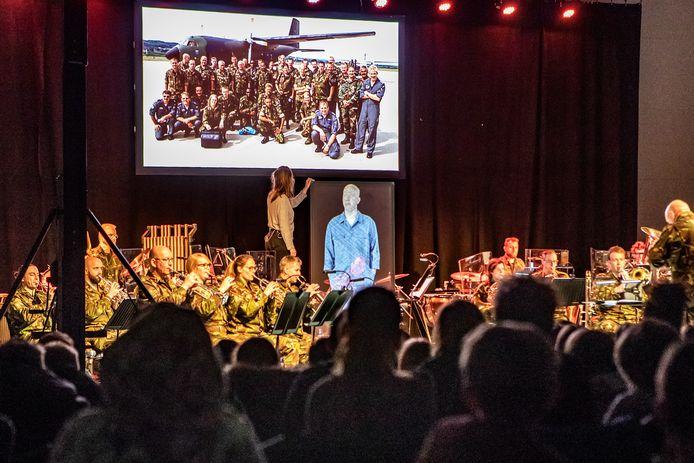 Het concert op de Capellenborg in Wijhe.