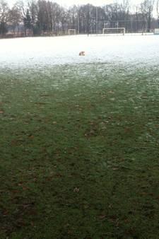 Geen voetbal op zondag in district Oost door winterweer