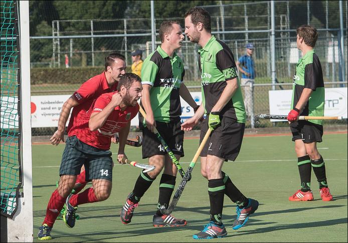 Boxmeer scoorde zes keer tegen Horst.