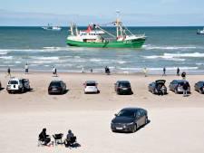 Gestrande Urker kotter nog tot zondag vast voor Deense kust: zwaar geschut onderweg