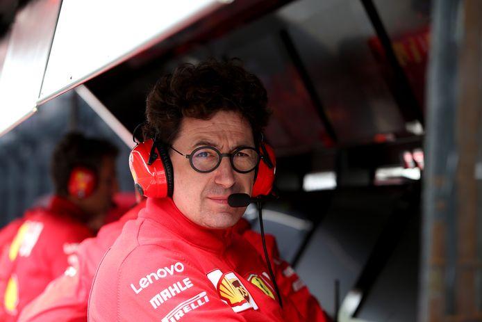 Ferrari-teambaas Mattia Binotto.