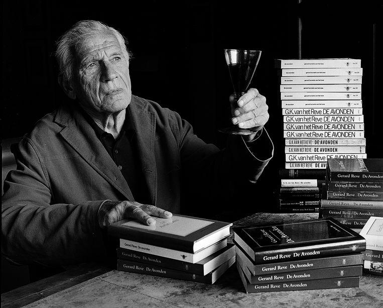 Gerard Reve in 2001. Beeld Eddy Posthuma de Boer