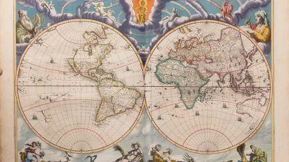 """""""Google Maps van de 17e eeuw"""" eind mei onder de hamer in Brussel"""