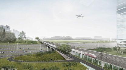 Volgend jaar start bouw fietsbrug, die mogelijk aftakking naar luchthaven krijgt