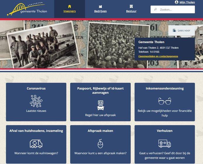 Tholen is een van de gemeenten die nog geen toegankelijkheidsverklaring voor hun website hebben.