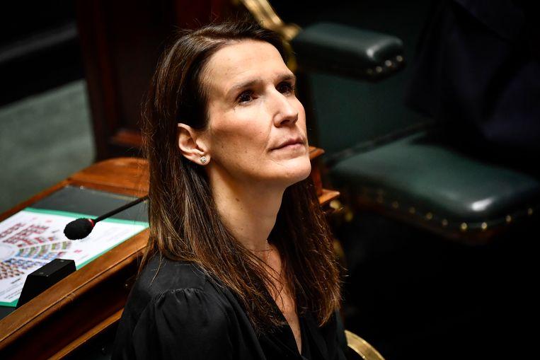 Premier Sophie Wilmès in de Kamer.