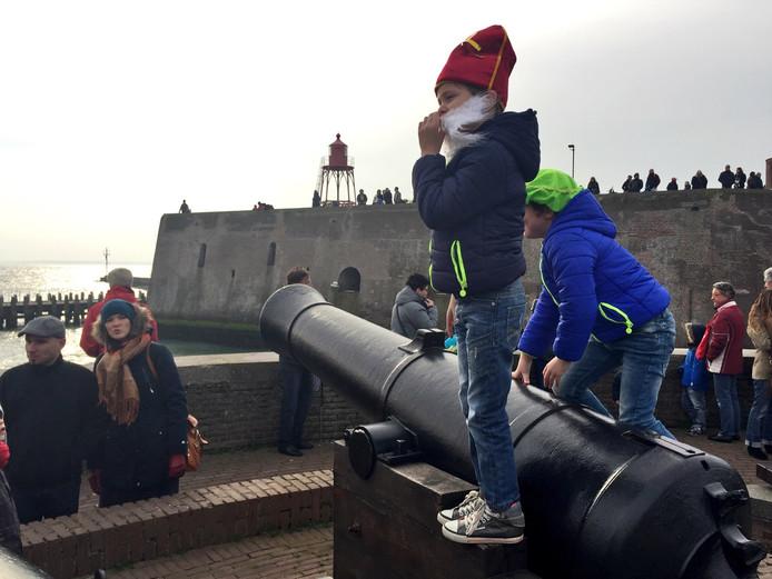 Vlissingen was klaar om Sinterklaas te ontvangen.
