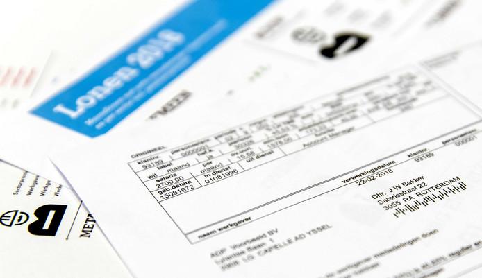 Veel werkgevers vragen bij het arbeidsvoorwaardengesprek naar een recent loonstrookje.