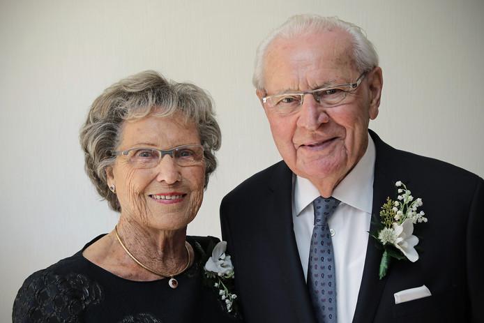 Marietje en Lambert zijn zestig jaar getrouwd.