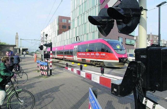Sinds de opening in 2011 is het aantal reizigers op de verbinding Enschede-Münster met 130 procent toegenomen. Foto: Charel van Tendeloo