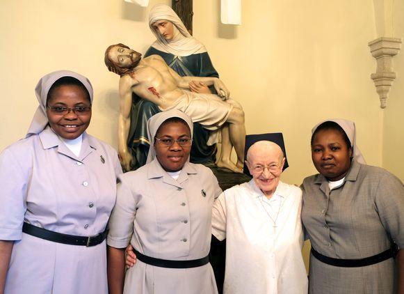 De nieuwe Congolese zusters zijn al actief in het RZ Tienen.
