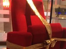 Filmliga Oss viert gouden jubileum met ontbijt, champagne en een nieuwe stoel