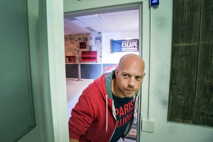 Pix4Profs-Ron Magielse De nieuwe escaperoom van Bas Maas bij De Stok is klaar om bezoekers op het verkeerde been te zetten.