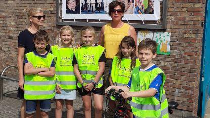 """""""Nood aan fietssuggestiestroken langs schoolpoort N456 Sleidinge"""""""