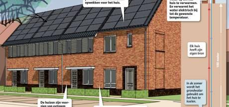 Grondwater verwarmt Puttense huizen