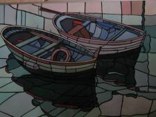 Alle werk van overleden Nunspeter kunstenaar Piet Bruins op site gebundeld