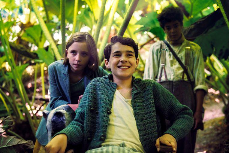 Mary en Colon in  'The Secret Garden' Beeld