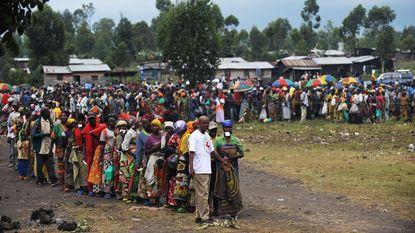 Michel maakt 1 miljoen vrij voor vluchtelingen in Noord-Kivu