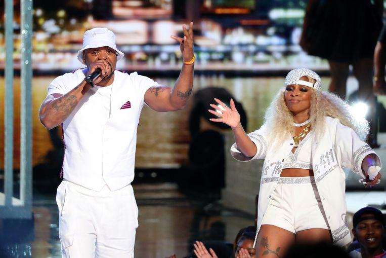 Mary J. Blige trad ook op, samen met Method Man