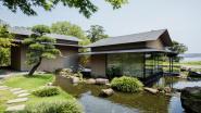 Zo zen kan een woning zijn: Japanse villa zonder één overbodig element is oase van rust