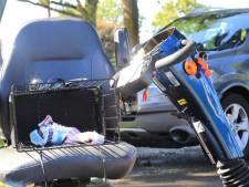 Aangereden scootmobieler gewond in Hoogland