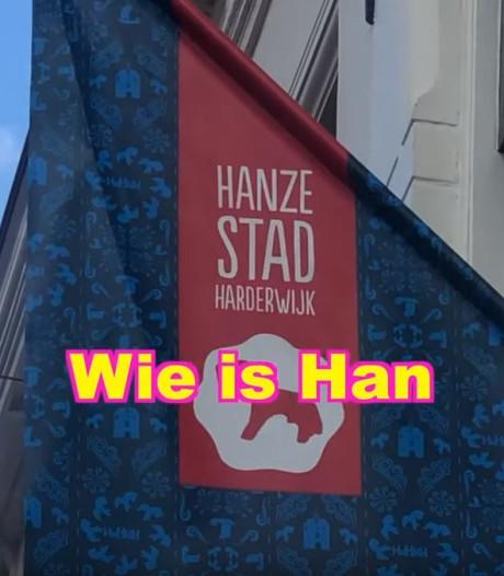 Vloghit Kakhiel zoekt vergeefs naar Han in Hanzestad Harderwijk