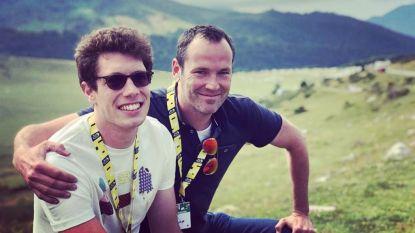 Vaste leverancier van kippenvel in de Tour: Sammy Neyrinck maakte al 180 reportages voor 'Vive Le Vélo'
