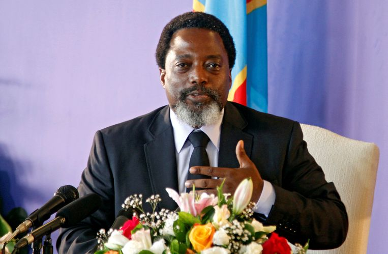 Huidig president Joseph Kabila.
