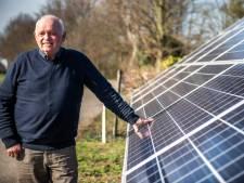 Peter Verhelst uit Westdorpe heeft een droom, een zonnepark op zijn land