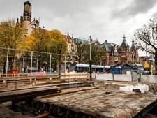 Nieuwe tramhalte Leidsebrug in gebruik