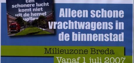 Milieuzone Breda is een blijvertje en wordt steeds strenger