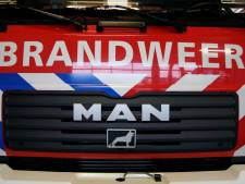 Flinke file op A15 naar Gorinchem na brand op trailer van gestrande truck