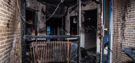 Al eerder brand in Tilburgse studentenflat na vertrek bewoners, vermoedens brandstichting toen niet bevestigd