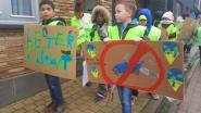 VIDEO. Leerlingen De Winde trekken straat op voor het klimaat