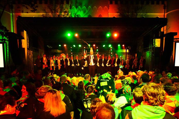 'Elf-elf' op het Willemsplein vorig jaar.