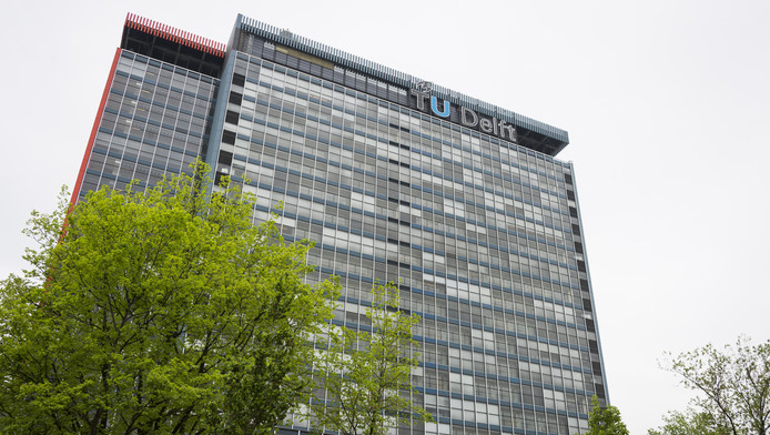 Exterieur van de TU Delft