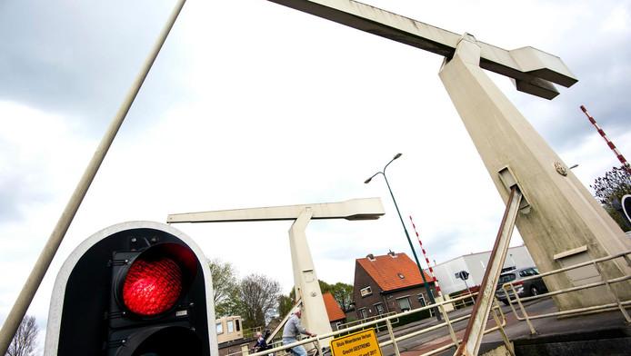 De Blokhuisbrug in Woerden.