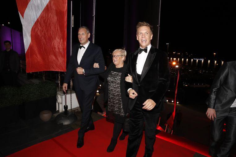 Gert, James en Annie komen aan in de Kinepolis