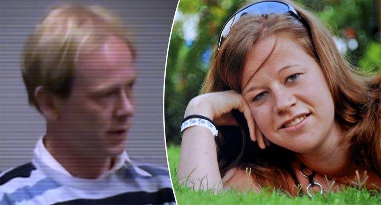 Moordenaar Tijl Teckmans (links) en zijn slachtoffer Britta Cloetens.