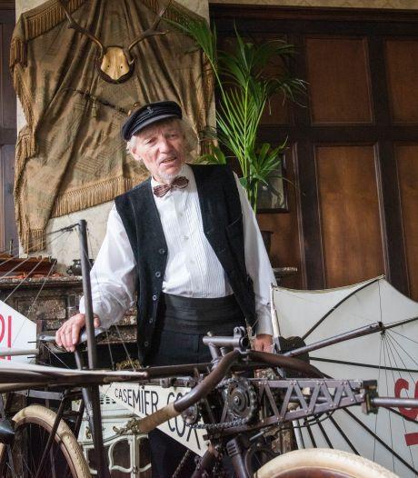 Bob Casemier uit Eindhoven bouwt een vliegfiets uit 1921 als pronkjuweel