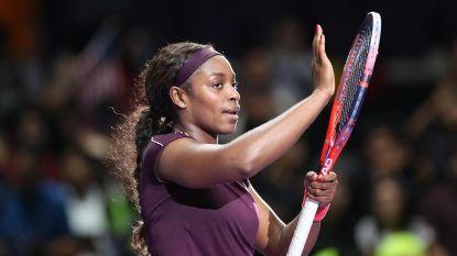 Kerber zet in slijtageslag Osaka opzij op WTA finals, Stephens neemt optie op halve finales
