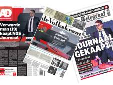 Kaping NOS-journaal centraal in kranten