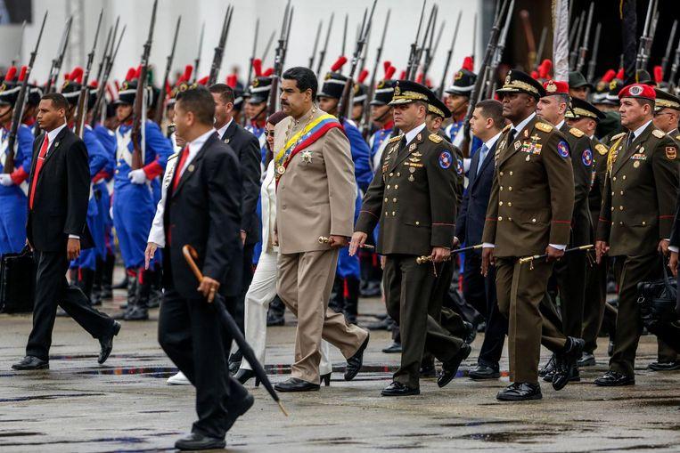 Maduro. Beeld EPA
