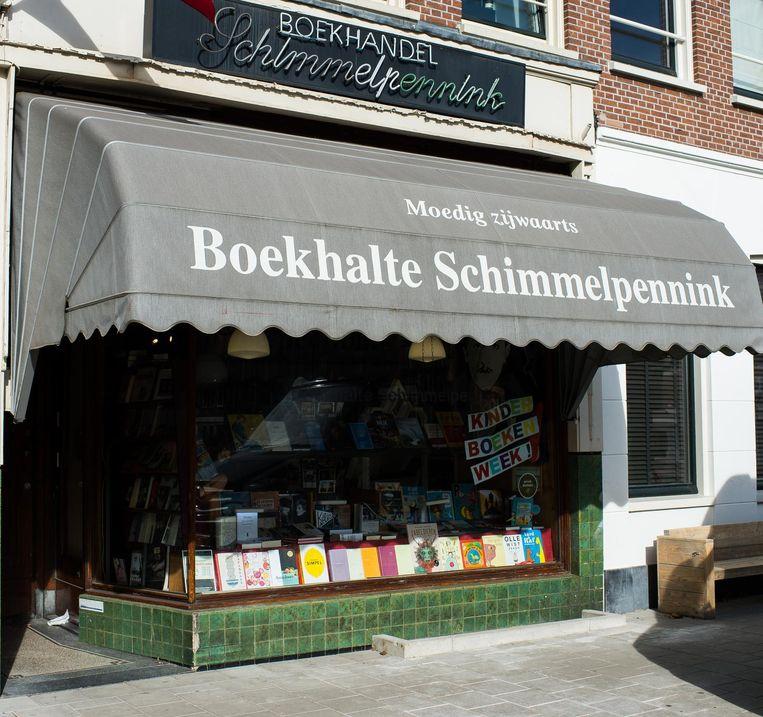 Boekwinkel Schimmelpennink Beeld Mats van Soolingen
