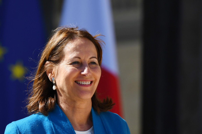 Ségolène Royal en 2017.