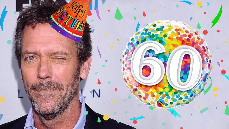 Hugh Laurie 60 jaar oud