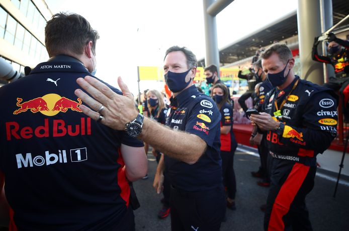 Christian Horner baalde van de uitvalbeurt van Max Verstappen.