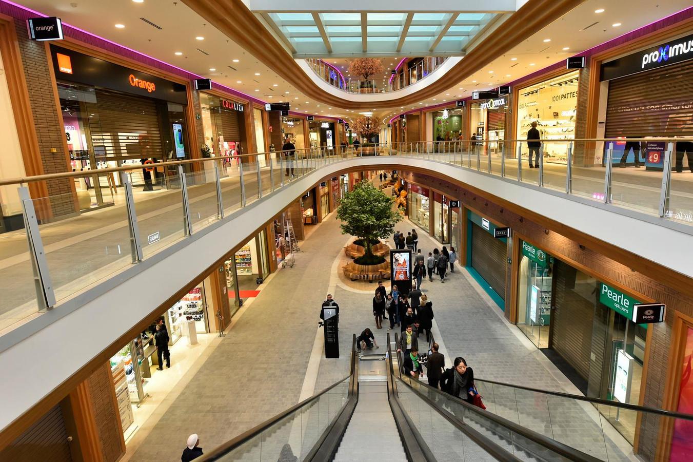 Centre commercial Rive Gauche à Charleroi