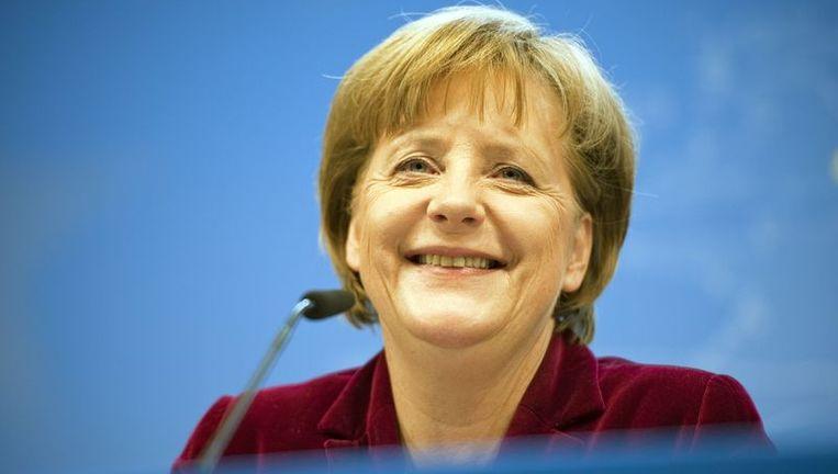 Angela Merkel Beeld afp